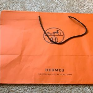 Handbags - Hermes shopping bag authentic